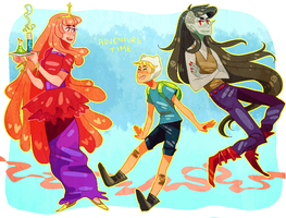 Adventure Time by naydeity