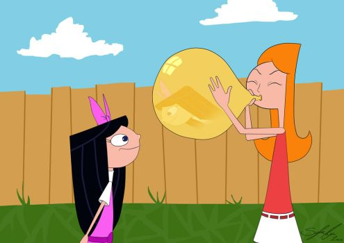 Phineas and Ferb - Candace Balloon by zzoffer