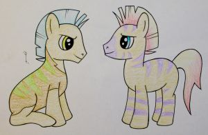 Caspian and Unnamed By Hurek by QuestionUnicorn