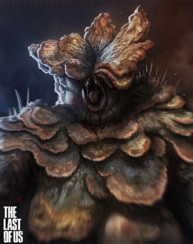 the Last of Us - Bloater by thomaswievegg