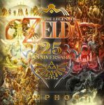 Zelda 25th Anniversary Symphony Album Cover by spartanz91