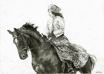 Horse rider by Lukas1212