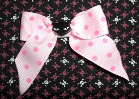 cUtE Cat hAiR-bOw pink kItsCh by LunaticDolls
