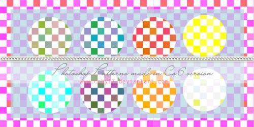 Squares candy colors  Photoshop Patterns by Coby17