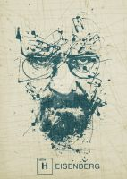 Heisenberg/wally white by CarabARTS