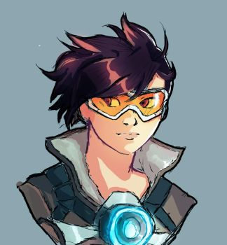Tracer Overwatch by AhmadAlshawa