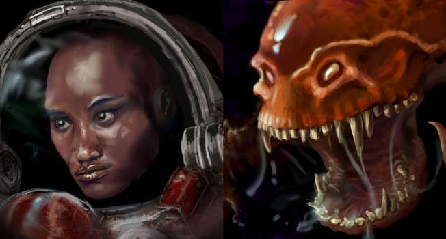 StarCraft Remastered Portrait Contest entries by xiaorobear