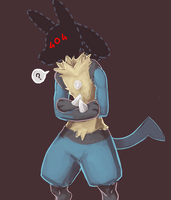 lucario by iCujoh