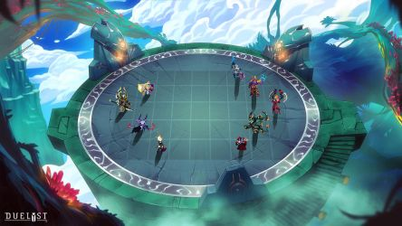 DUELYST: Magmar Battlemap by 152mm