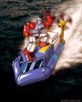 Windcharger and Seaspray by ryuzo
