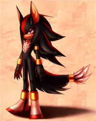 03.06 ~ Shadow the Hedgehog contest Species Change by Shadisfaction