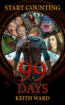 99 Days Book Cover by LawrenceMann