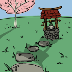 Oriental Well by Deviant-Mell