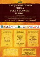 silesia folk + country flyer by forty-winks