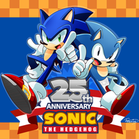 Happy 25th Anniversary Sonic! by Tale-Dude