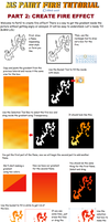 MS Paint Fire Tutorial: Part 2 by Albels-wish