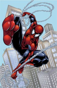 Spider-Man color 2 by seanforney