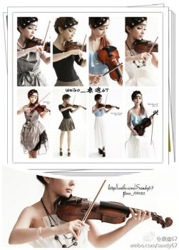 daily-perform-violin-my music-sandy67 by sandy67-Q