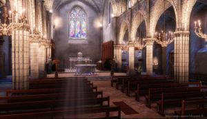 Church Environment UDK ver 2 by amaterasu111