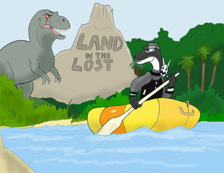 Commission - Land of The Lost Review by Troyodon