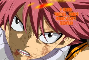 Fairy Tail  Chapter 330 Natsu by Kayden007