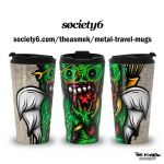 Metal travel mugs by ElAsmek