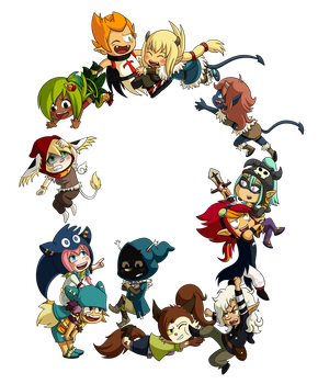 Circle of Wakfu by Crystal-Zen