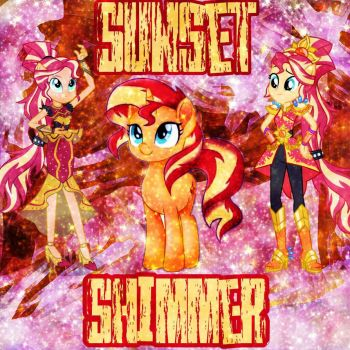 Sunset Shimmer Edit  by MettaraTheFabulous
