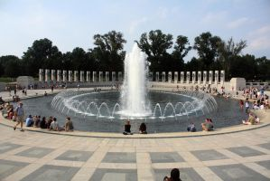 WWII fountain by HalfBloodDragon