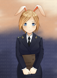 Nyashmyash Emofuri animation with bunny ears by iruslan