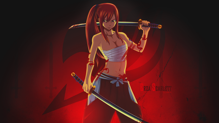 Erza Wallpaper Pack by Darkprincess92