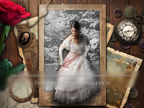 Create a Vintage and Romantic Scene in Photoshop by MariaSemelevich