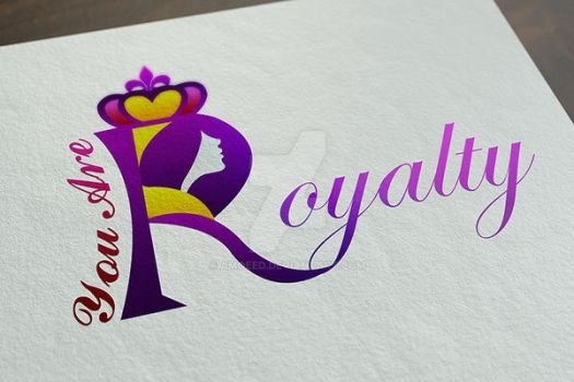 Woman Royalty Logo#2