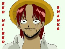 Red Haired Shanks by NitroRed
