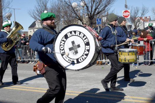 St. Patrick's Day Parade, Making A Drum Beat by Miss-Tbones