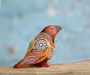 Clay Bird by nicsadika