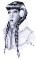 Chilly Lady by InkCell-Illustration