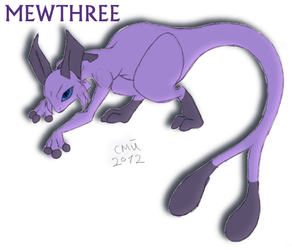 Mewthree design - Contest Entry by Marijke-Rose