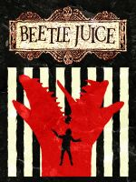Beetlejuice (1988) Minimalist Poster [Alt Version] by JRTribe