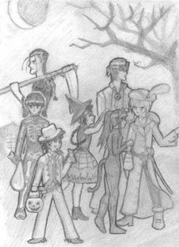 Trick or Treat That Is by kenshin-fc