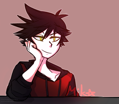He's my evil son and I lov him by MikoMei