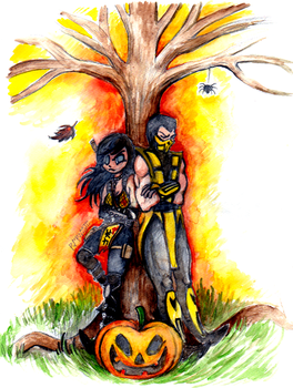 Request: Scorpion and Hellfire by Pumpulaatti