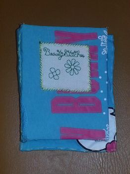 BCD: Flowers Mini Blank Book 7 by t0pd0g4evr
