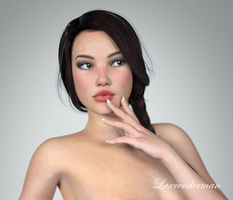 Moi? Not Real? - Detail by luxrenderman
