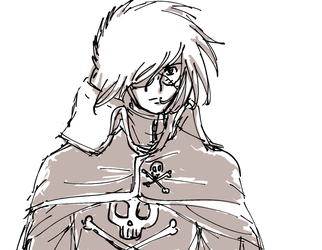 more harlock lol by mimidan