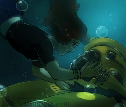 Shape of Water by AXEL464
