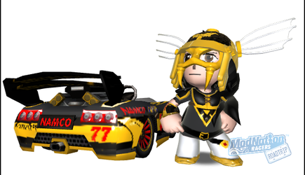 Black Valkyrie on Modnation Racers Road Trip by PacGuy765