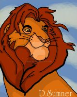 Adult Simba Colored by niggyd