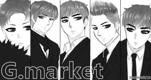 BIG BANG:G.MARKET by IDASWANZ