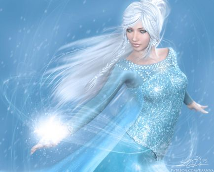 Frost Queen by LeAndraDawn